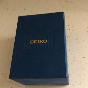 Mans seiko Kenetic watch